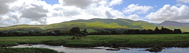 Panorama in Irland